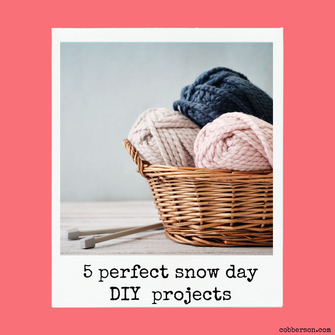 5 snow day DIY projects
