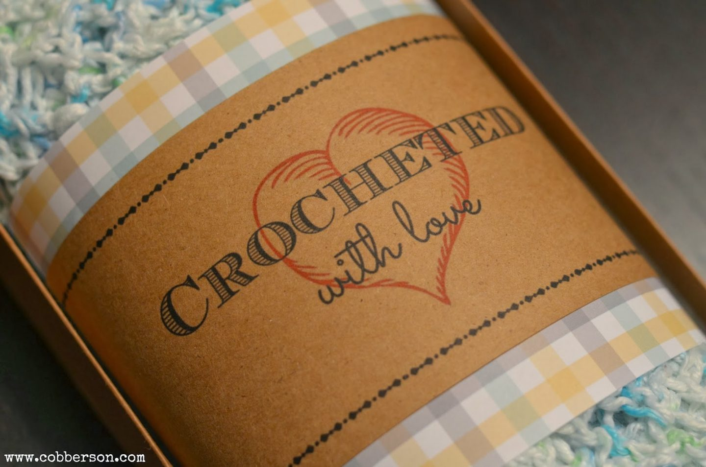 cobberson crocheted with love gift tags