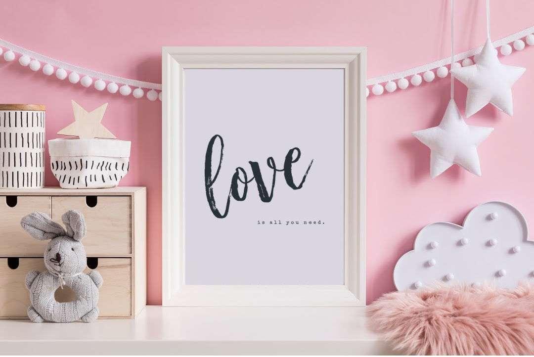 free printable valentine wall art