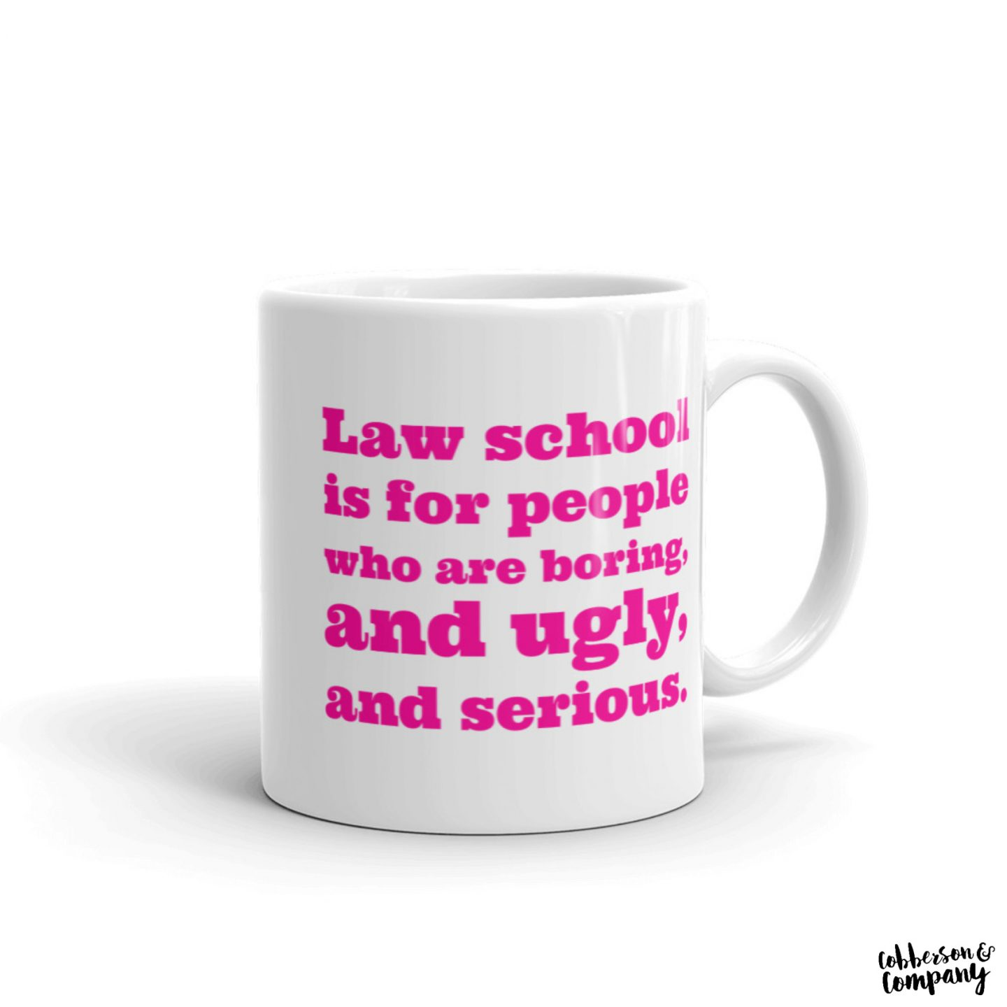 elle woods leagally blonde law school mug