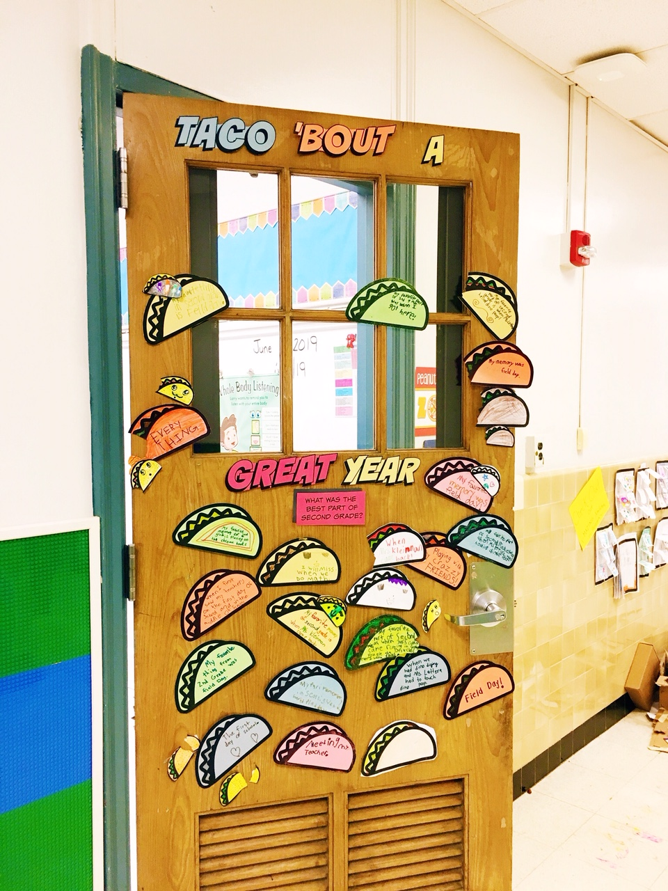 Free printable: taco themed classroom activity