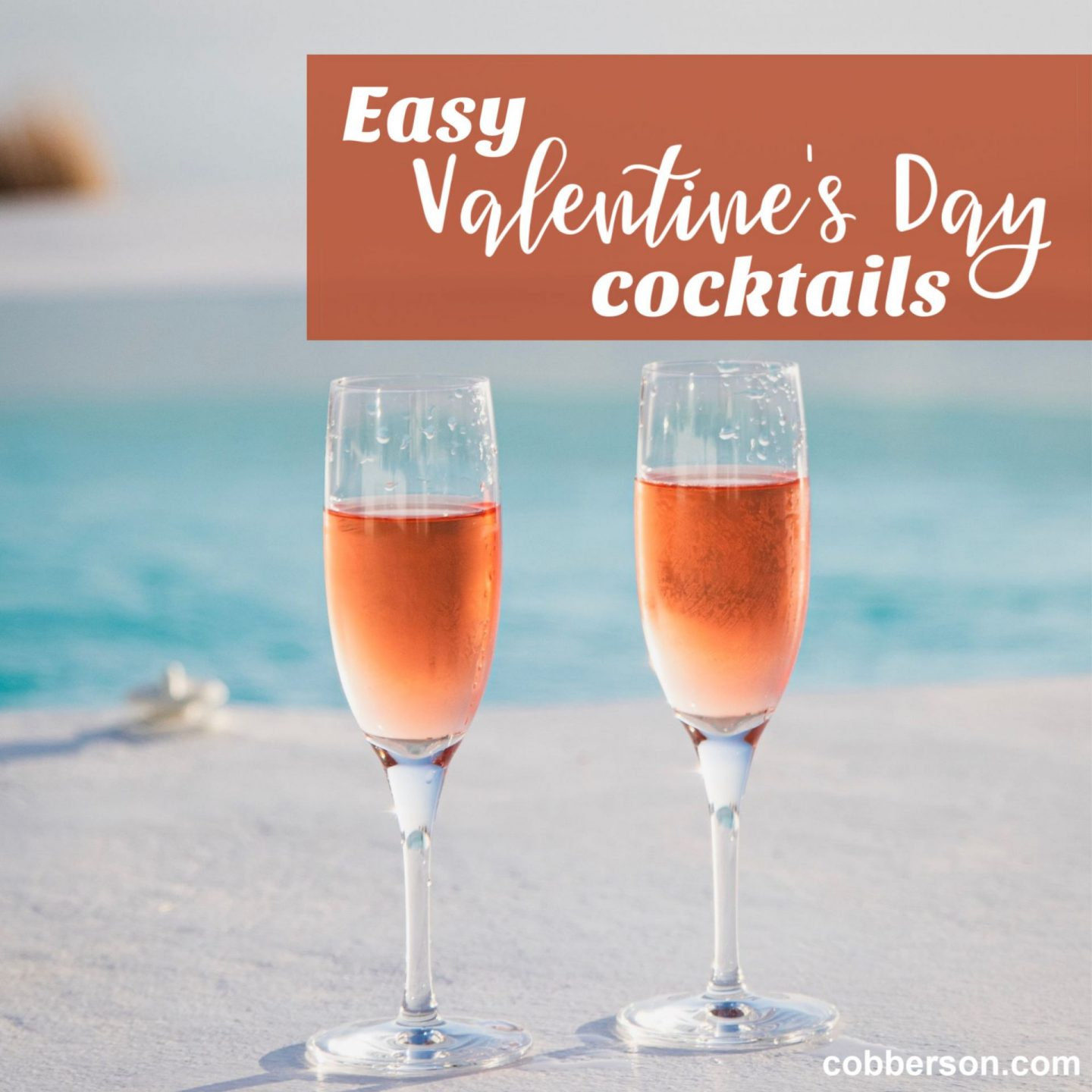 Easiest Galentine's Day cocktail ever