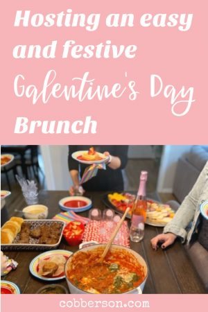 Host an easy Galentine's Day brunch party sample menu