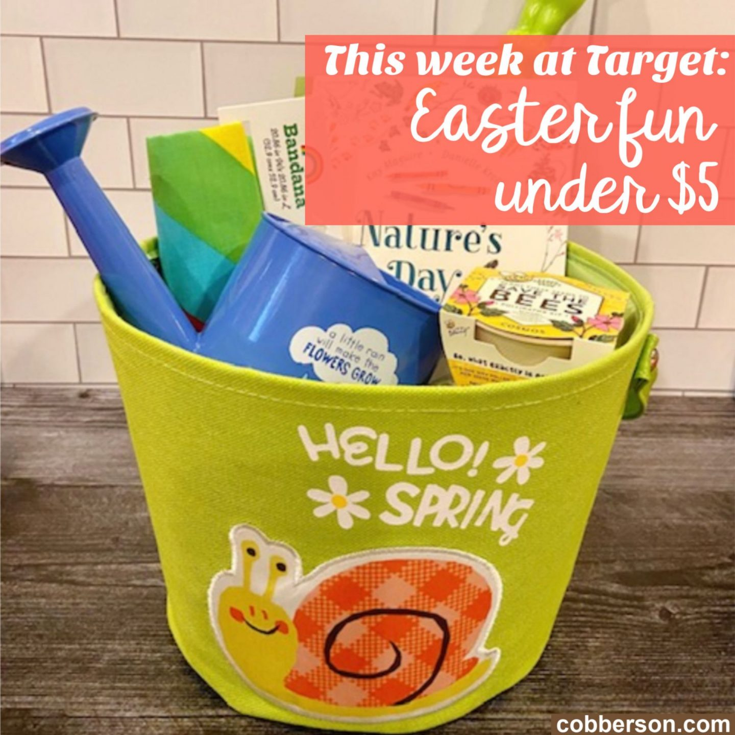 target easter basket stuffers under 5 dollars