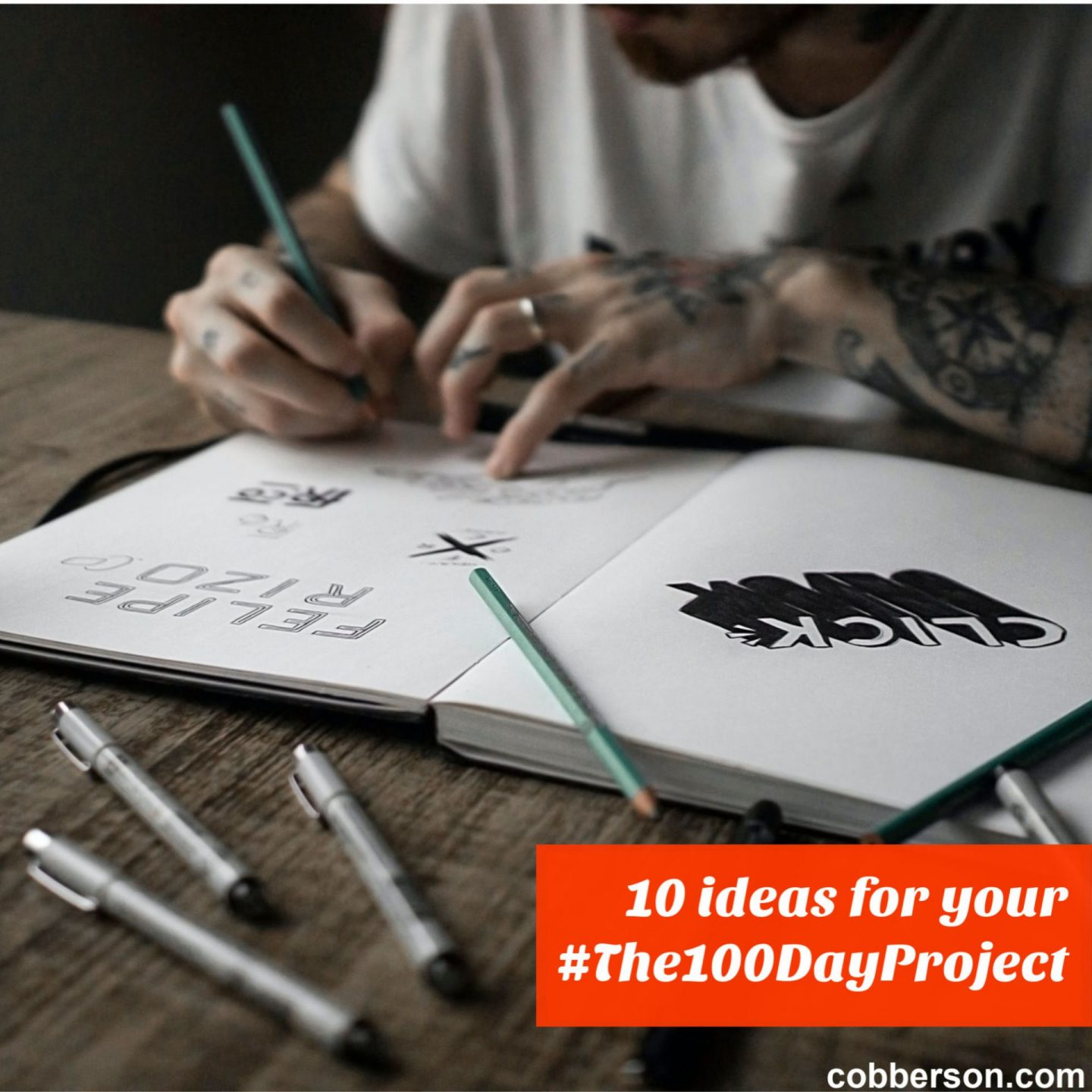 10 ideas for your 100 day project