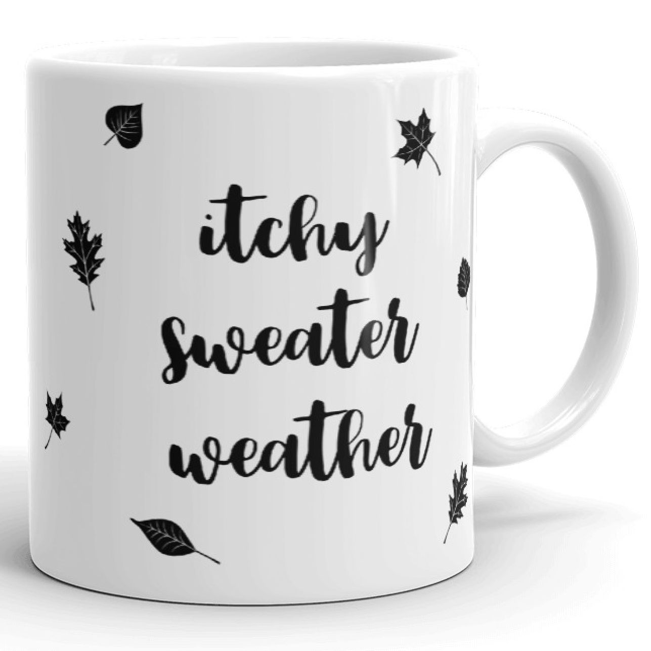 cobberson itchy sweater weather mug