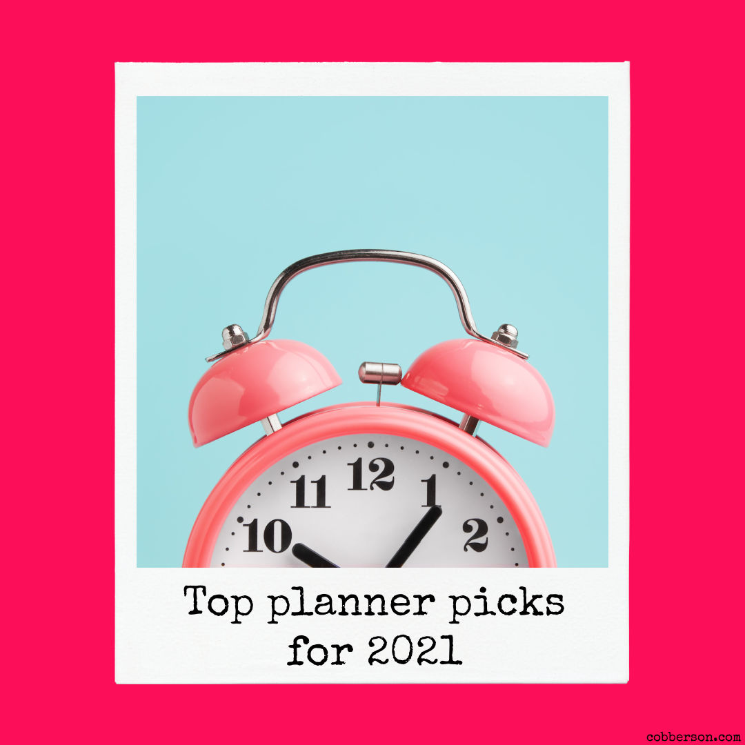Top planner picks for 2021