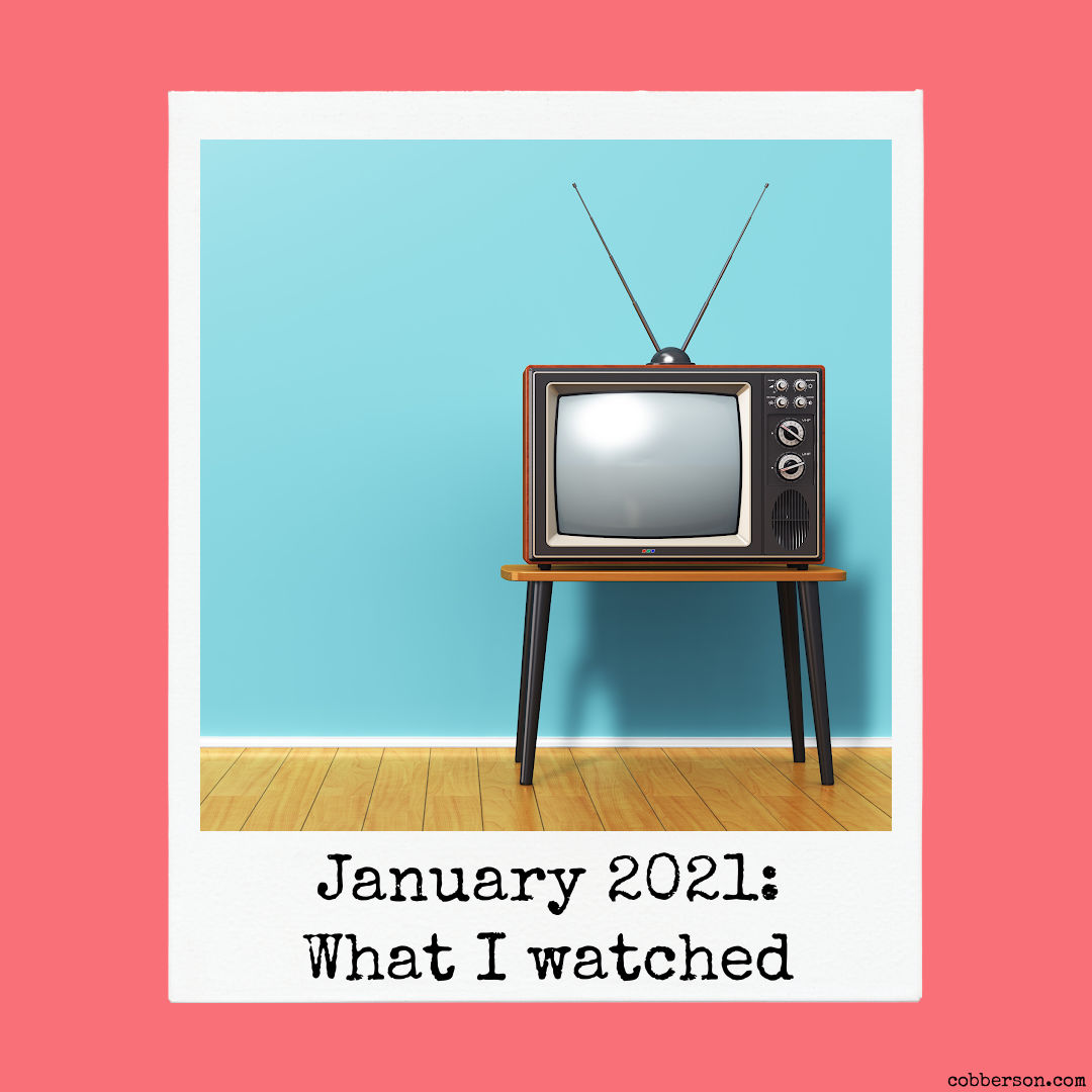 tv and movies i watched in january