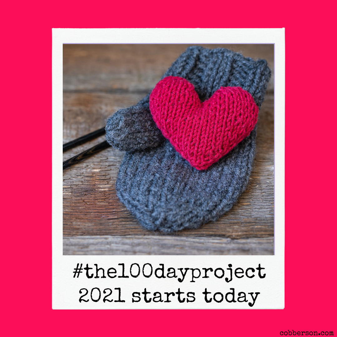 #the100dayproject 2021 starts today