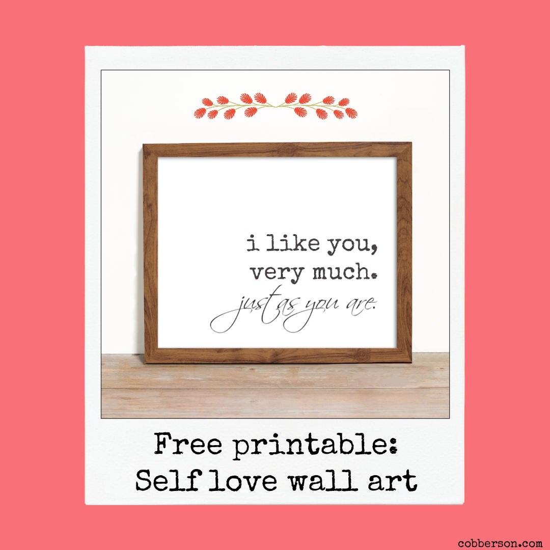 free printable valentine wall art