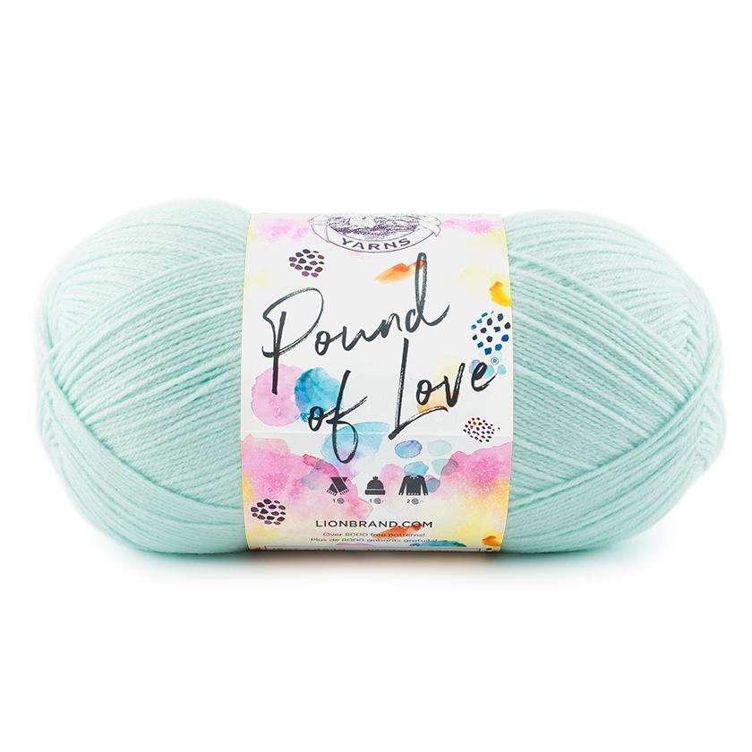 lion brand yarn pound of love