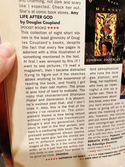 douglas coupland sassy review