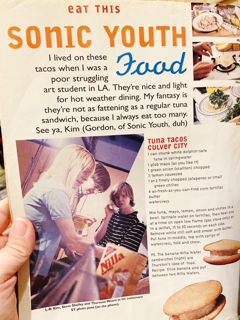 sonic youth recipe sassy